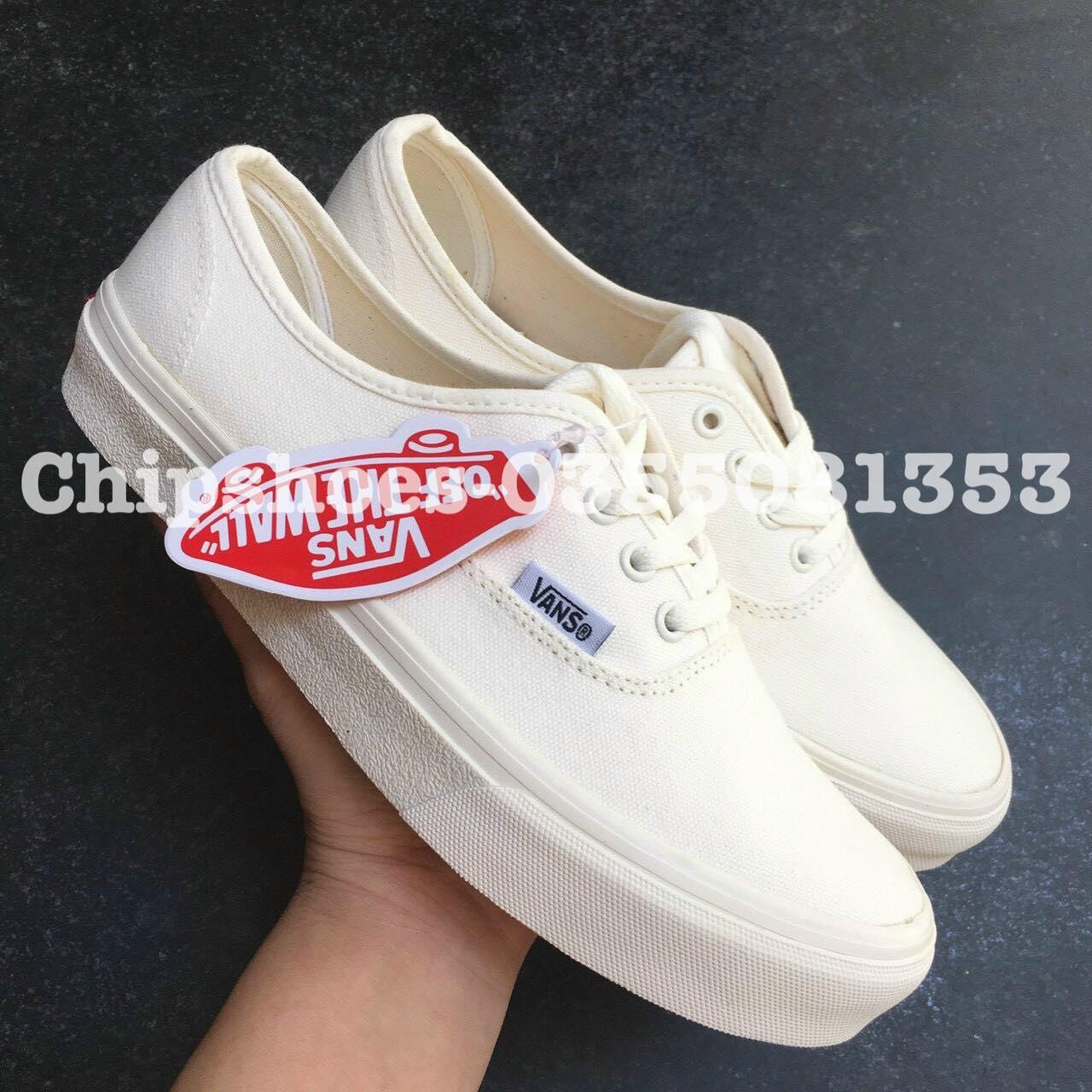 giày vans classic allwhite (rep)