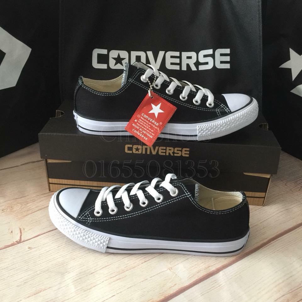 Giày Converse Classic Thấp Đen