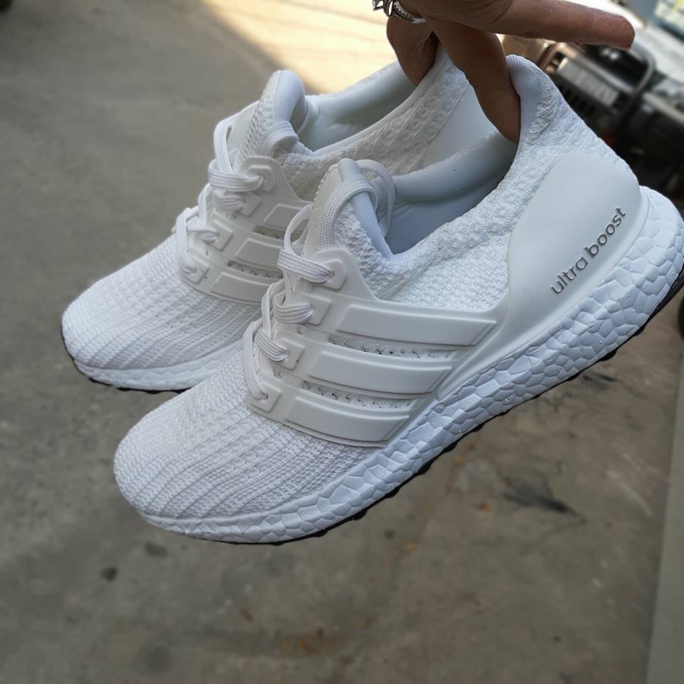 giày thể thao adidas ultraboost full trắng sf