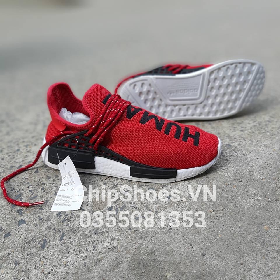 giày thể thao human race đỏ tươi