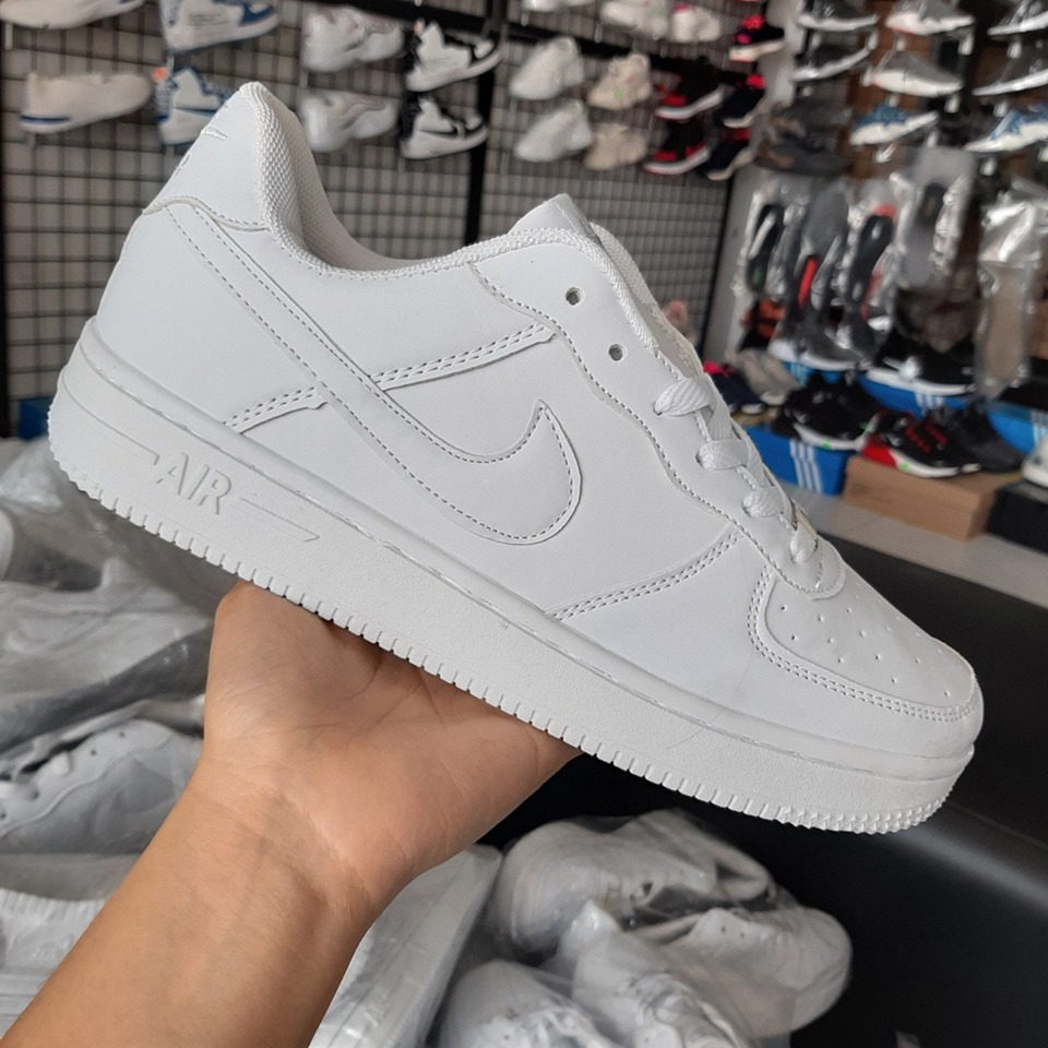 giày nike air for full white
