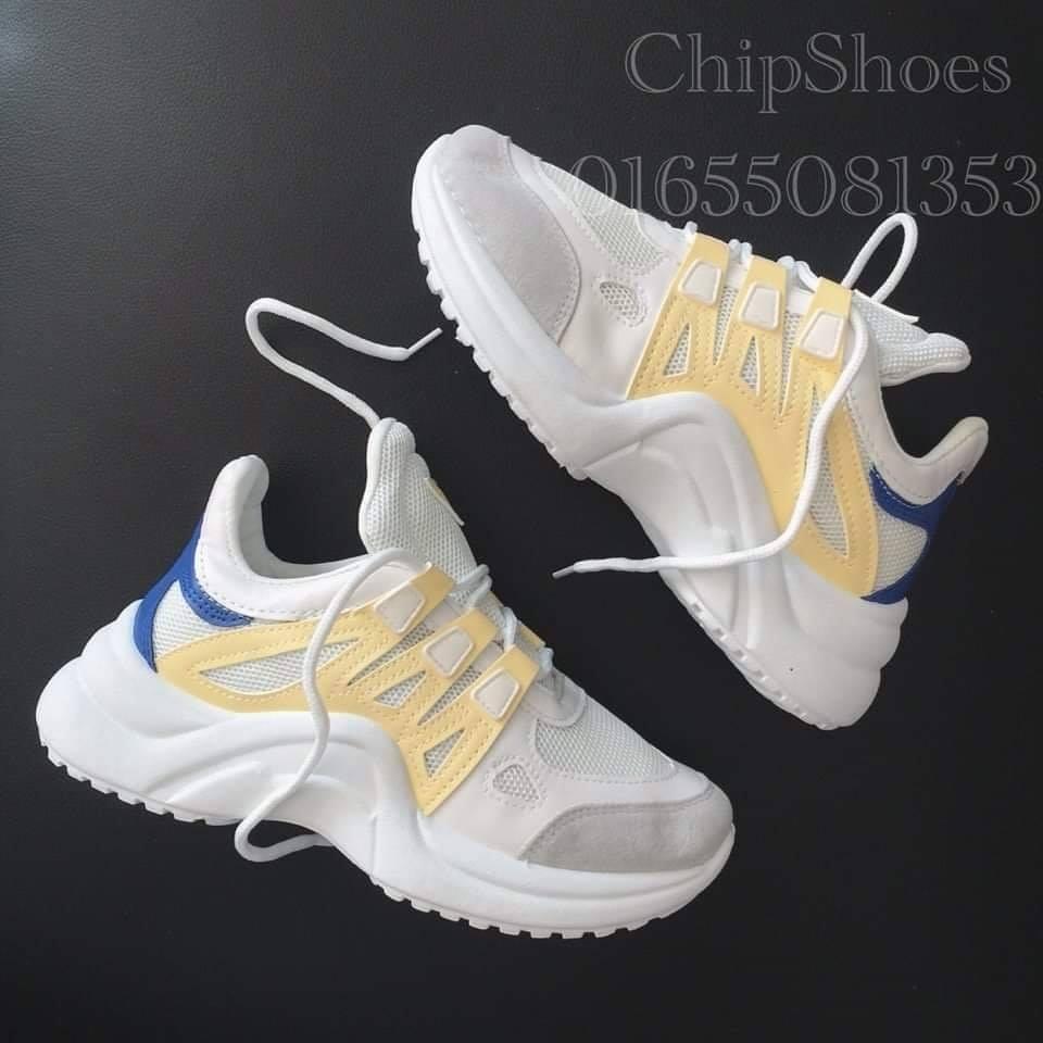 giày thể thao lx vàng