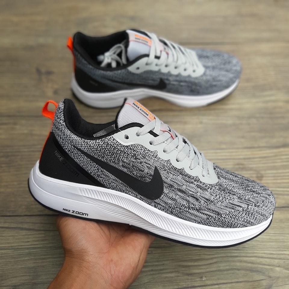 giày thể thao nike zoom xám