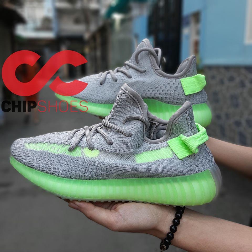 giày thể thao adidas yz350 xanh lá