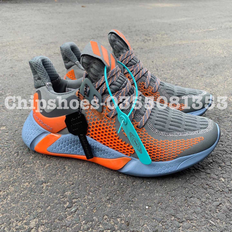 giày adidas alphabounce instinct m xám cam