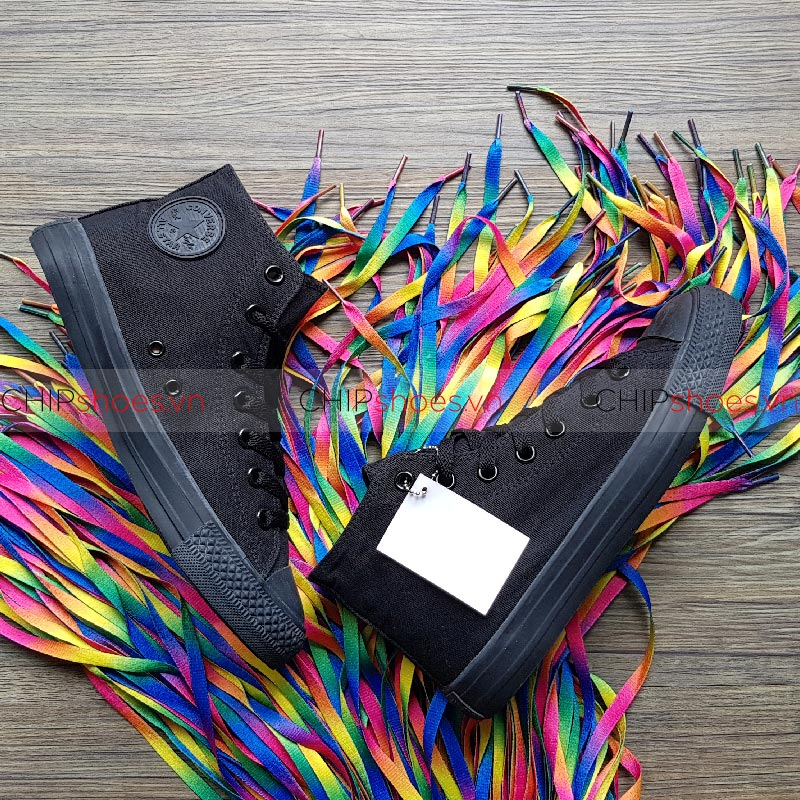 Giày Converse Classic Allblack Cao
