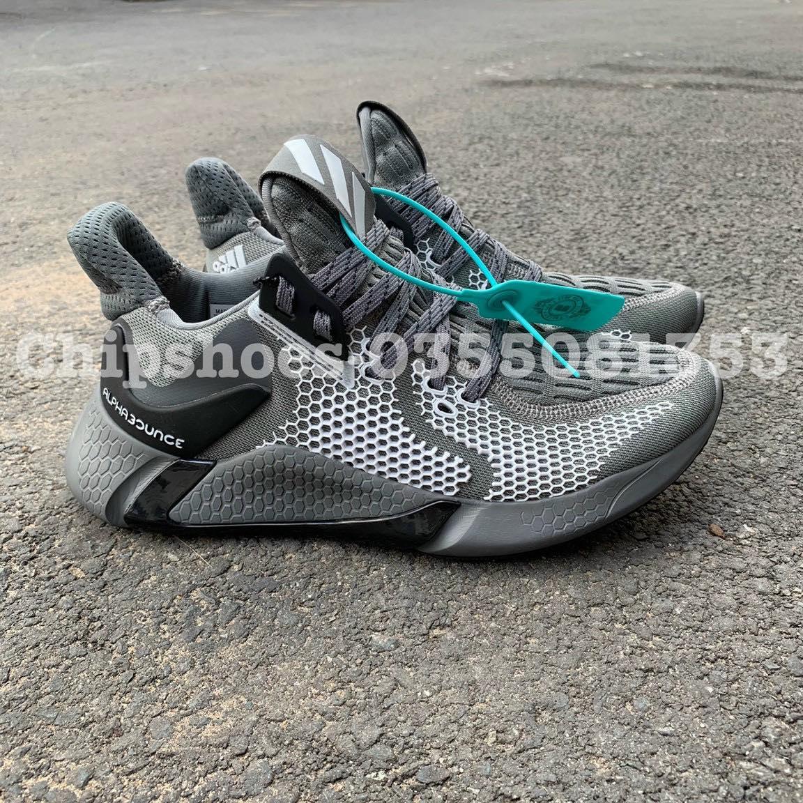 giày adidas alphabounce instinct m grey