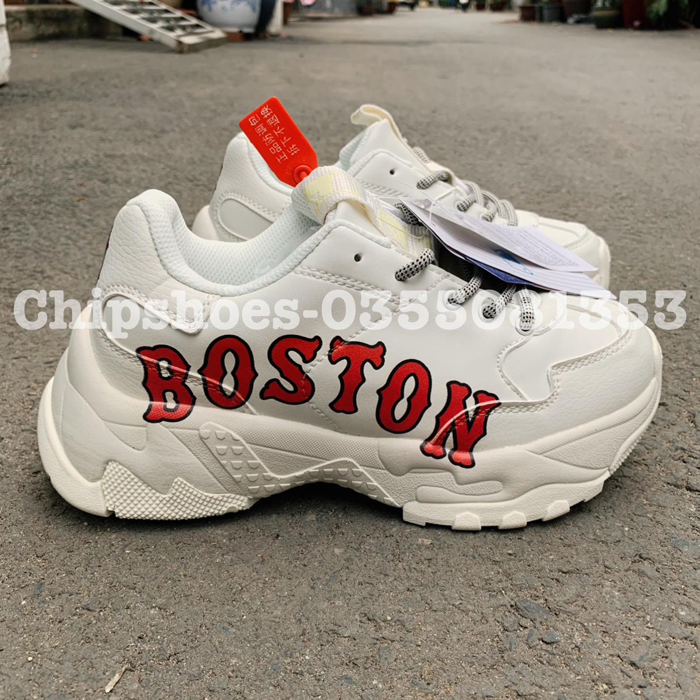giày gucci mlb boston